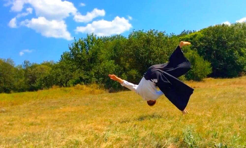 Aikido. Правильное исполнение страховки