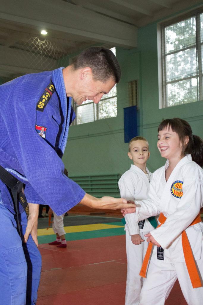 Айкидо для детей. Aikido для взрослых